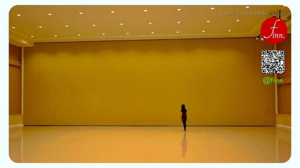 MOVABLE WALL SYSTEM (ผนังกันเสียงเคลื่อนที่) By FINN De'cor